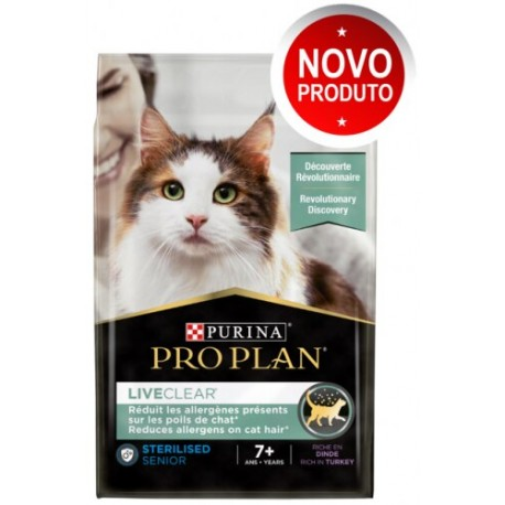 PRO PLAN® Live Clear Sterilized 7+ Perú 2,8Kg
