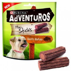 Adventuros Cão Mini Sticks 90Gr