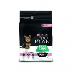 PRO PLAN Small & Mini Puppy Sensitive Skin Salmon 3kg