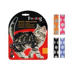 Peitoral + Trela gato Freedog