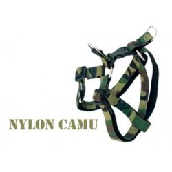 Peitoral Camu nylon militar