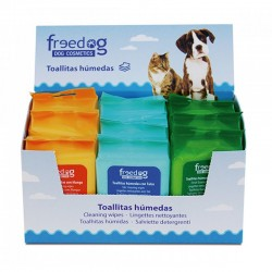 Toalhitas de Limpeza Húmidas Perfumadas Freedog