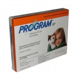 PROGRAM GATO SUS 133MG (6AMP)