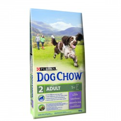 DOG CHOW Adulto Borrego 14Kg