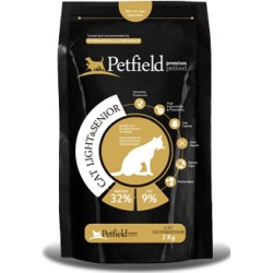 PETFIELD CAT LIGHT & SENIOR 2KG