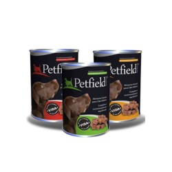 PETFIELD WETFOOD DOG BEEF