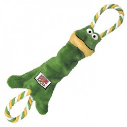 KONG Cão Tugger Knots Frog M/L