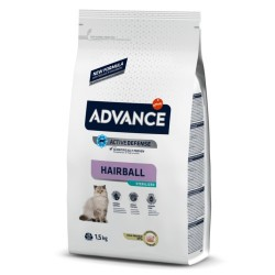 ADVANCE Gato Esterilizado Hairball 1.5Kg