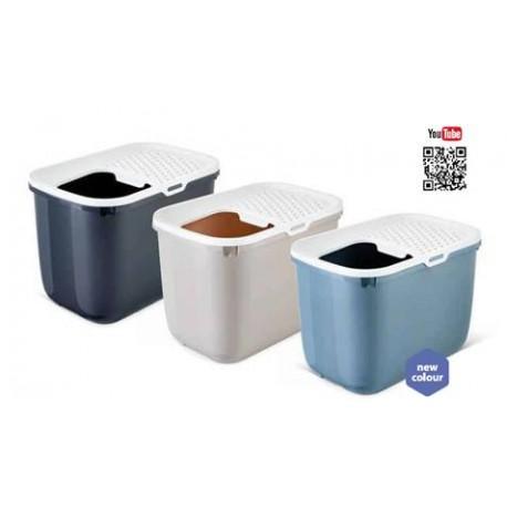 WC GATO HOP-IN BRANCO/CINZA