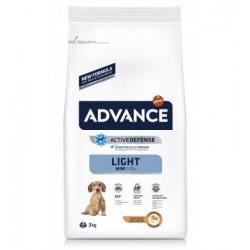 ADVANCE Cão Adulto Mini Light Frango 3kg