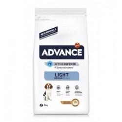 ADVANCE Cão Light Medium Frango 3kg