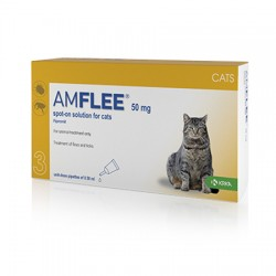 AMFLEE 50MG GATOS 3PP