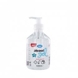 ÁLCOOL GEL 500ML C/DOSEADOR