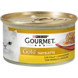 GOURMET® GOLD TARTELETTE COM FRANGO COM CENOURAS 85G